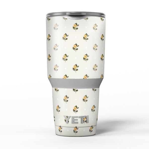 The_Micro_Daisy_and_Polka_Dot_Pattern_-_Yeti_Rambler_Skin_Kit_-_30oz_-_V5.jpg