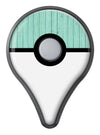 The Mint Green Wood Planks  Pokémon GO Plus Vinyl Protective Decal Skin Kit