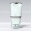 The_Mint_and_White_Axed_Pattern_-_Yeti_Rambler_Skin_Kit_-_30oz_-_V1.jpg