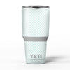 The_Mint_and_White_Axed_Pattern_-_Yeti_Rambler_Skin_Kit_-_30oz_-_V5.jpg