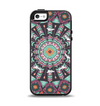 The Mirrored Coral and Colored Vector Aztec Pattern Apple iPhone 5-5s Otterbox Symmetry Case Skin Set