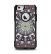 The Mirrored Coral and Colored Vector Aztec Pattern Apple iPhone 6 Otterbox Commuter Case Skin Set