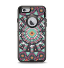 The Mirrored Coral and Colored Vector Aztec Pattern Apple iPhone 6 Otterbox Defender Case Skin Set
