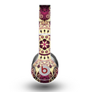 The Mirrored Gold & Purple Elegance Skin for the Beats by Dre Original Solo-Solo HD Headphones