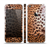 The Mirrored Leopard Hide Skin Set for the Apple iPhone 5