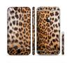 The Mirrored Leopard Hide Sectioned Skin Series for the Apple iPhone 6 Plus