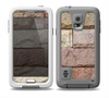 The Mixed Color Stone Wall V3 Skin for the Samsung Galaxy S5 frē LifeProof Case