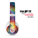 The Mixed Neon Paint Skin for the Beats Studio for the Beats Skin