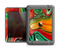 The Mixed Orange & Green Paint Apple iPad Air LifeProof Fre Case Skin Set