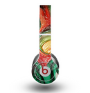 The Mixed Orange & Green Paint Skin for the Beats by Dre Original Solo-Solo HD Headphones
