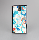 The Modern Abstract Blue Tiled Skin-Sert Case for the Samsung Galaxy Note 3