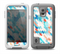 The Modern Abstract Blue Tiled Skin for the Samsung Galaxy S5 frē LifeProof Case