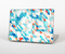 "The Modern Abstract Blue Tiled Skin Set for the Apple MacBook Pro 15"" with Retina Display"