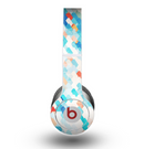 The Modern Abstract Blue Tiled Skin for the Beats by Dre Original Solo-Solo HD Headphones