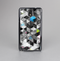 The Modern Black & White Abstract Tiled Design with Blue Accents Skin-Sert Case for the Samsung Galaxy Note 3