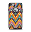 The Modern Colorful Abstract Chevron Design Apple iPhone 6 Otterbox Defender Case Skin Set