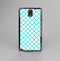 The Moracan Teal on White Skin-Sert Case for the Samsung Galaxy Note 3