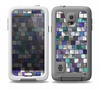The Mosaic Purple and Green Vivid Tiles V4 Skin for the Samsung Galaxy S5 frē LifeProof Case