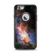 The Mulitcolored Space Explosion Apple iPhone 6 Otterbox Defender Case Skin Set