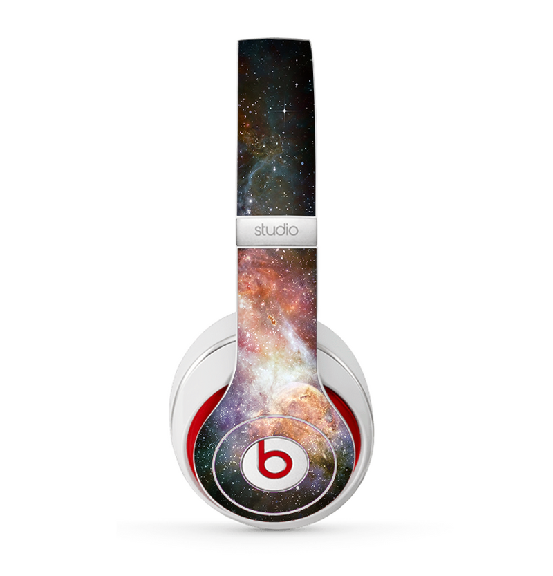 The Multicolored Space Explosion Skin for the Beats by Dre Studio (2013+ Version) Headphones