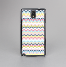 The Multi-Lined Chevron Color Pattern Skin-Sert Case for the Samsung Galaxy Note 3