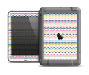 The Multi-Lined Chevron Color Pattern Apple iPad Air LifeProof Fre Case Skin Set