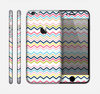 The Multi-Lined Chevron Color Pattern Skin for the Apple iPhone 6