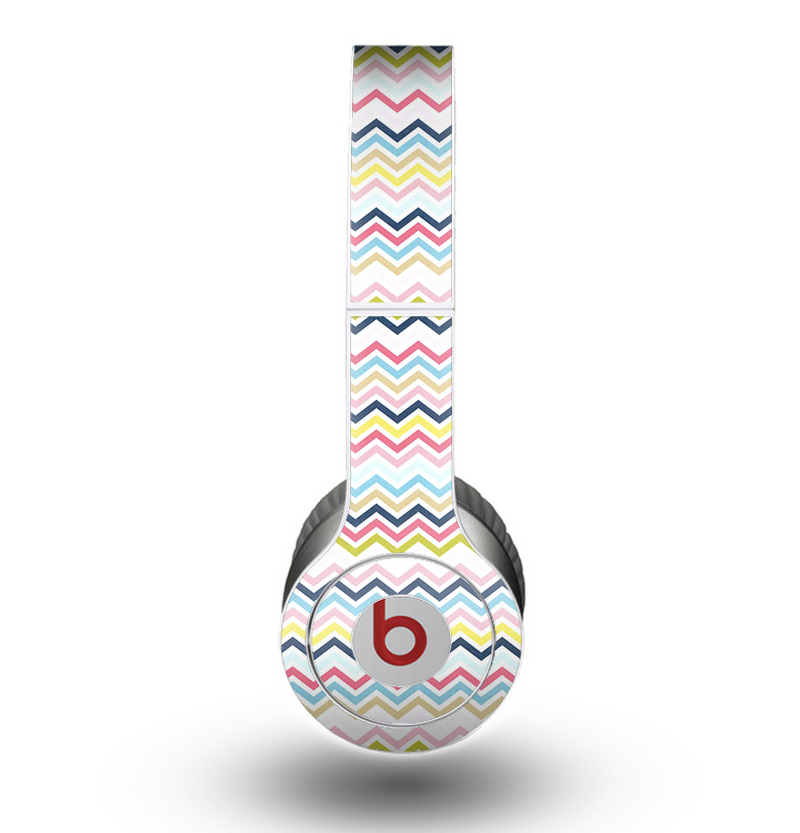 The Multi-Lined Chevron Color Pattern Skin for the Beats by Dre Original Solo-Solo HD Headphones
