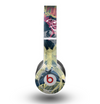 The Multi-Styled Yellow Butterfly Shadow Skin for the Beats by Dre Original Solo-Solo HD Headphones