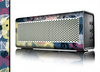 The Multi-Styled Yellow Butterfly Shadow Skin for the Braven 570 Wireless Bluetooth Speaker