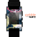 The Multi-Styled Yellow Butterfly Shadow Skin for the Pebble SmartWatch