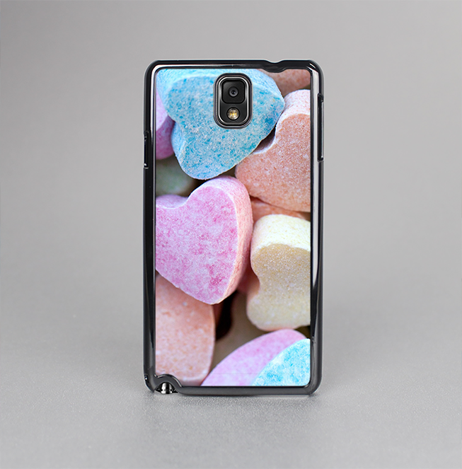 The Multicolored Candy Hearts Skin-Sert Case for the Samsung Galaxy Note 3