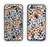 The Multicolored Leopard Vector Print Apple iPhone 6 Plus LifeProof Nuud Case Skin Set