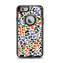 The Multicolored Leopard Vector Print Apple iPhone 6 Otterbox Defender Case Skin Set
