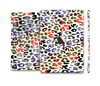The Multicolored Leopard Vector Print Full Body Skin Set for the Apple iPad Mini 3