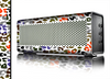 The Multicolored Leopard Vector Print Skin for the Braven 570 Wireless Bluetooth Speaker
