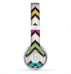 The Multicolored Pixelated ZigZag CHevron Pattern Skin for the Beats by Dre Solo 2 Headphones