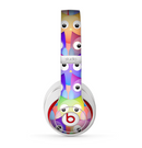 The Multicolored Shy Owls Pattern Skin for the Beats by Dre Studio (2013+ Version) Headphones