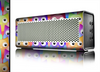 The Multicolored Shy Owls Pattern Skin for the Braven 570 Wireless Bluetooth Speaker