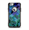 The Multicolored Tile-Swirled Pattern Apple iPhone 6 Otterbox Commuter Case Skin Set