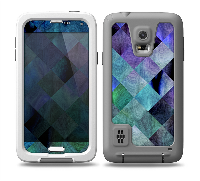 The Multicolored Tile-Swirled Pattern Skin for the Samsung Galaxy S5 frē LifeProof Case