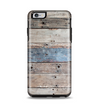The Multicolored Tinted Wooden Planks Apple iPhone 6 Plus Otterbox Symmetry Case Skin Set