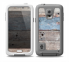The Multicolored Tinted Wooden Planks Skin for the Samsung Galaxy S5 frē LifeProof Case