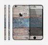 The Multicolored Tinted Wooden Planks Skin for the Apple iPhone 6
