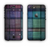 The Multicolored Vintage Textile Plad Apple iPhone 6 Plus LifeProof Nuud Case Skin Set