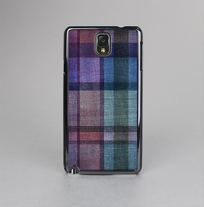 The Multicolored Vintage Textile Plad Skin-Sert Case for the Samsung Galaxy Note 3