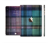 The Multicolored Vintage Textile Plad Full Body Skin Set for the Apple iPad Mini 3