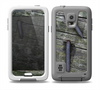 The Nailed Mossy Wooden Planks Skin for the Samsung Galaxy S5 frē LifeProof Case