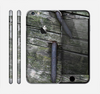 The Nailed Mossy Wooden Planks Skin for the Apple iPhone 6
