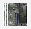 The Nailed Mossy Wooden Planks Skin for the Apple iPhone 6 Plus